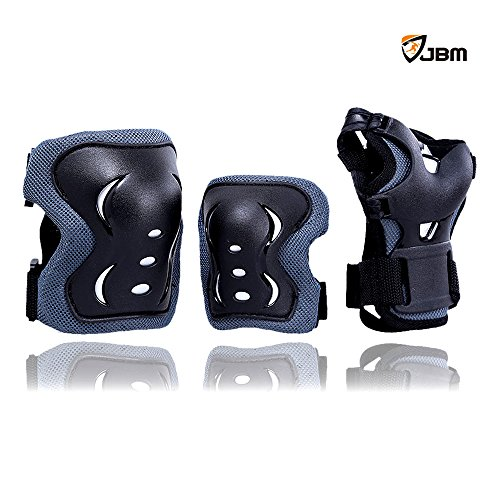 Purchase JBM® New Arrival Children Cycling Roller Skating Knee Elbow Wrist Palm Protective Pad Supp...