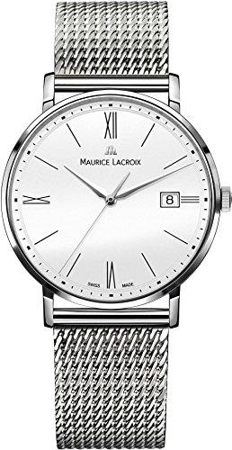 Maurice Lacroix Eliros EL1087-SS002-111-1 Reloj de Pulsera para hombres Plano & ligero
