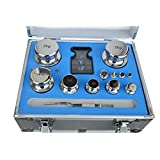 F1 Grade 1mg-2kg 304 Stainless Steel Scale Calibration Weights Kit Set w Certificate Wholesale Balance Weights One Set Of Calibration Stainless Steel Weight