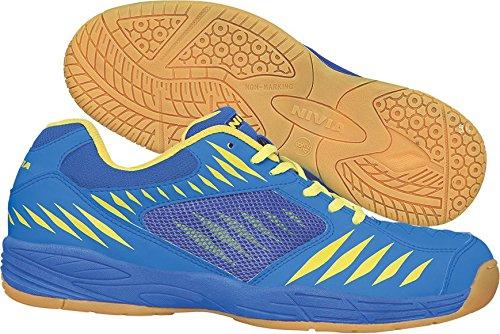 Nivia Super Court Badminton Shoes, UK 5 (Blue)