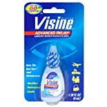 Visine Advanced Relief Lubricant/Redness Reliever Eye Drops, Sterile .28 oz