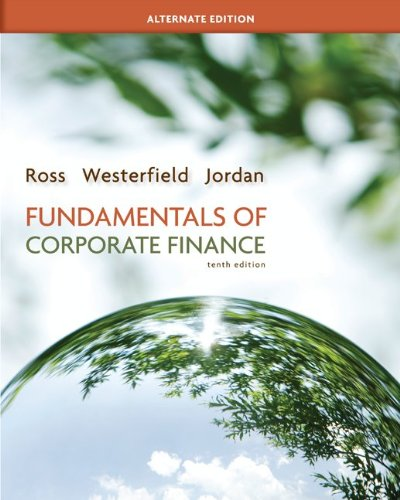 fundamentals of corporate finance 9th edition
