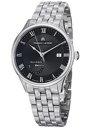 Maurice Lacroix Masterpiece Men'S Power Reserve Automatic Watch Mp6807-Ss002-310