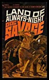 img - for LAND OF ALWAYS NIGHT - Doc Savage (13) Thirteen book / textbook / text book