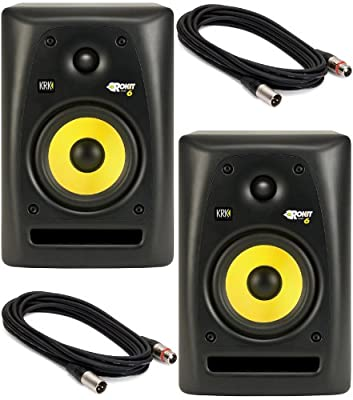 KRK ROKIT RP-6 G2 Sutdio Monitors Bundle from KRK