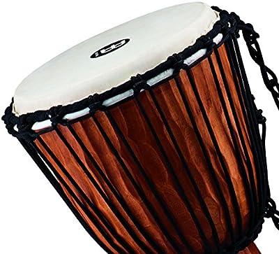 Meinl Percussion HDJ4-M Nile Series Headliner Rope Tuned Djembe, Medium: 10-Inch Diameter by AOHY9