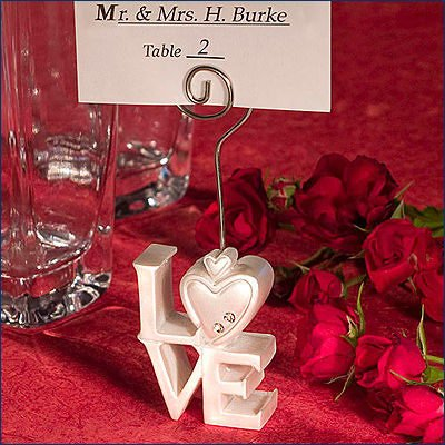 LOVE Design Place Card Holders, 80