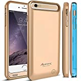iPhone 6 Plus Battery Case [MFi Certified], Alpatronix BX140plus Ultra-Slim Protective Extended iPhone 6 Plus Charging Case with Removable / Rechargeable Power Cover [Fits all versions of the Apple iPhone 6 Plus / 4000mAh Battery Pack / Full iOS 8 Compati