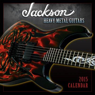 (12X12) Jackson Heavy Metal Guitars - 2015 Calendar