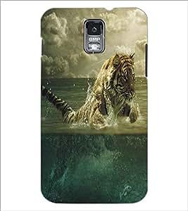 SAMSUNG GALAXY S4 MINI TIGER Designer Back Cover Case By PRINTSWAG