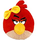 Angry Birds 16 Inch Deluxe Plush With Sound Red Girl Bird