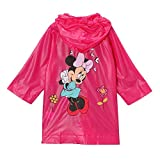 Disney Girls Minnie Mouse Rain Slicker Coat (Pink)