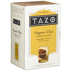 Tazo Tea 20 Tea Bags 6 Pack from Tazo