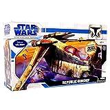 Star Wars Clone Wars Animated Series Exclusive Vehicle Republic Gunship