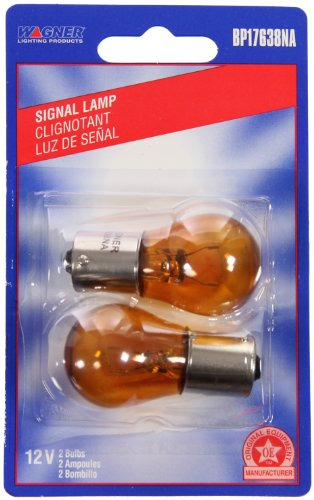 Wagner Lighting BP17638NA Natural Amber Miniature Bulb - Card of 2 (Gladius Coil Pack compare prices)
