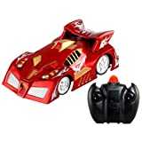 BestOfferBuy 4CH Remote Control RC Spiderman Wall Climbing Climber Stunt Car Toy Red