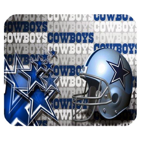 Creative Dallas-Cowboys Design Rectangle Mousepad Mouse Mat front-920582