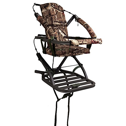 Why Should You Buy Summit Treestands Mini Viper SD Climbing Treestand, Mossy Oak