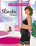 SlimMe By MeMoi Women's Basic Control Maternity Thigh Shaper, L-Nude