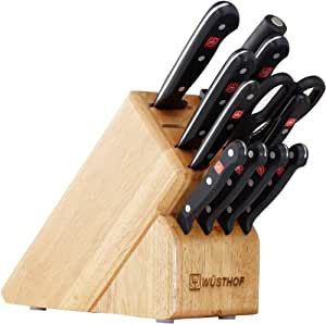 Wusthof Gourmet 12-Piece Knife Set with Block