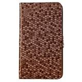 Mucho-Flip Case Cover For Xiaomi Redmi 2 Prime 4G - Brown Flip Case
