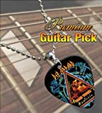 Def Leppard Hysteria 1988 Tour Premium Guitar Pick Necklace
