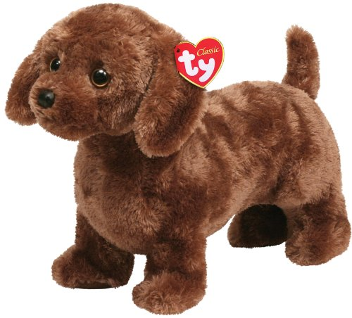 Ty Classic Plush Frank - Dachscund Dog - 1