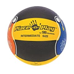 Buy Place-N-Play Basketball Intermediate by S&S Worldwide