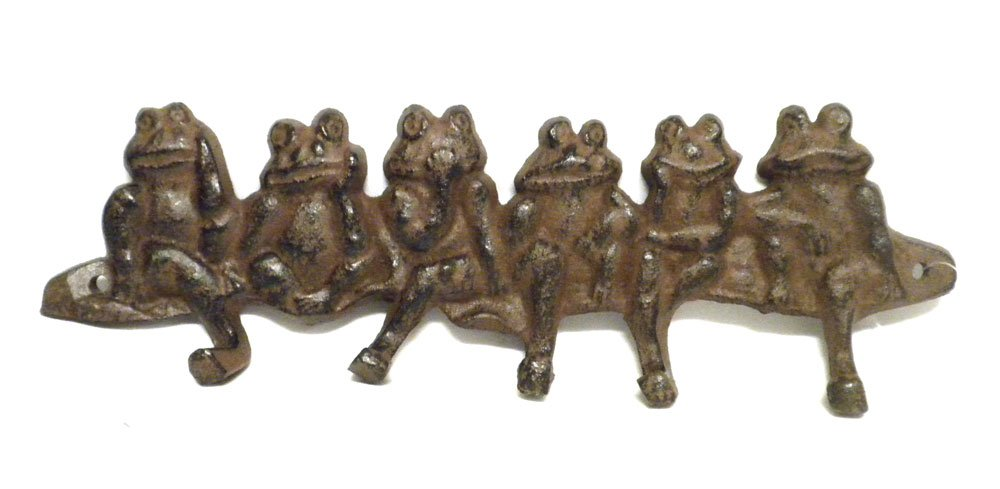 Decorative Frog Wall Hooks And Key Hangers