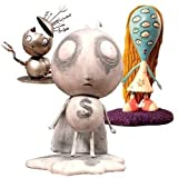 Tim Burton's TRAGIC TOYS Set Of 3 (Robot Boy - Stain Boy - The Girl With Many Eyes)