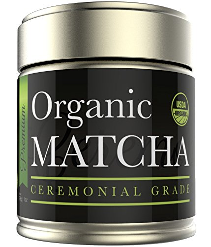 Matcha Green Tea Powder - Organic Ceremonial Grade - Japanese (1oz) (Kiss Me Organics compare prices)