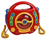 Toy - Kinder CD Player Digital Karaoke mit 2 Mikrophone