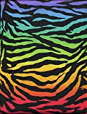 Fierce Zebra Microfiber Sheet Set Multi-Color Full Sheets By Morgan Kids