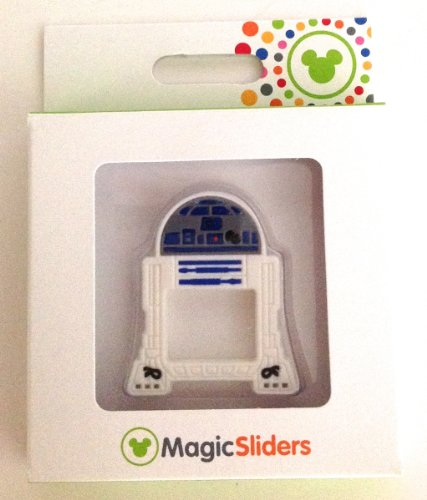 Disney Parks Star Wars R2D2 Magic Band Slider Charm NEW