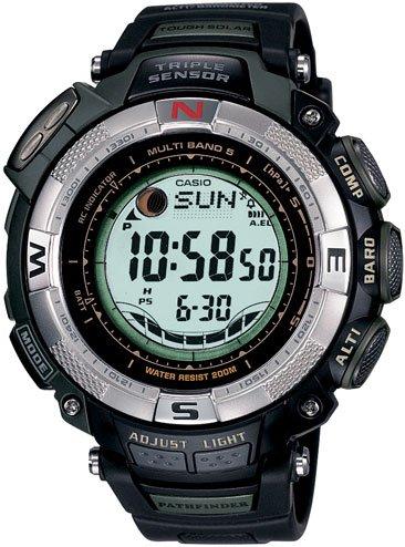 Casio Paw1500-1v Pathfinder Atomic Tough Solar Watch