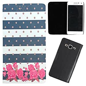 DooDa - For Samsung Galaxy Note 2 PU Leather Designer Fashionable Fancy Flip Case Cover Pouch With Smooth Inner Velvet