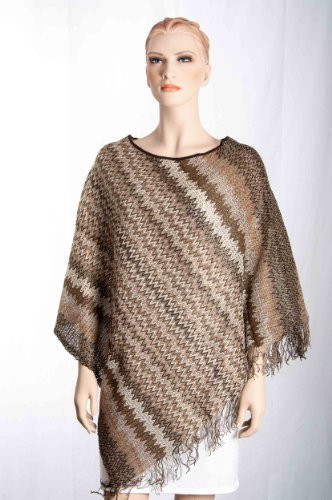 Missoni Poncho - Orange Label, Multicolore, 100 x 80 cm - ON