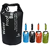 Freegrace® Ultimate Lightweight Dry Sack - Dry Bags Waterproof Guaranteed - Perfect Waterproof Bag for Adventures - Floating Dry Bag, Great for Boating, Kayaking, Hiking, Snowboarding, Camping, Rafting, Fishing - Dry Compression Sack with High Quality Roll Top Closure System - Available in 2L,5L,10L and 35-50L,65-80L for Mountaineering Bag Only - Great as Birthday Gifts and for Water Lover - 90 Days 100% Money Back Guarantee