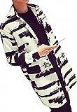 メンズ ロング コート 薄手 モノトーン 白 黒
