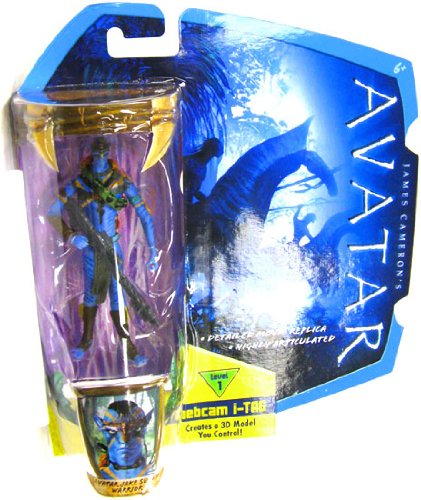 Buy Low Price Mattel James Cameron's Avatar Movie 3 3/4 Inch Na'vi Action Figure Avatar Jake Sully Warrior Na'Vi Avatar (B0035LMWL6)