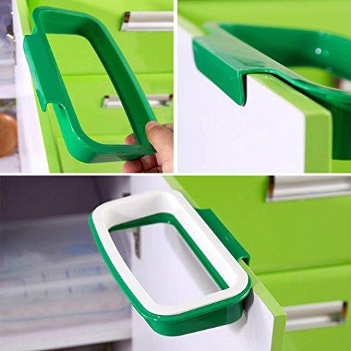 Creazy® Hanging Kitchen Cabinet Door Trash Rack Style Storage Garbage Bags (Sticker Kitchen Cabinet compare prices)