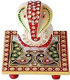 Ravishing Variety Peacock Chowki Ganesh