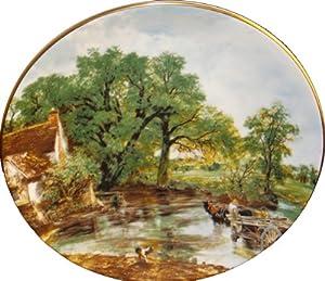Coalport John Constable Plate The Hay Wain