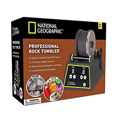 Professional Quality Rock Tumbler by NATIONAL GEOGRAPHIC