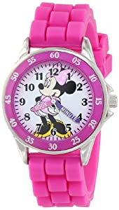 Disney Kids' MN1157 Minnie Mouse Pink Watch by Disney