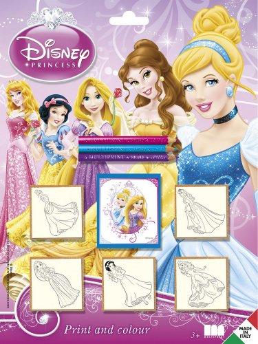 Multiprint - 5660 - Loisir Créatif - Blister 5 Tampons - Princesses