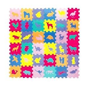Safield alfombra de juegos y puzzle infantil goma eva for Diseno piezas infantiles