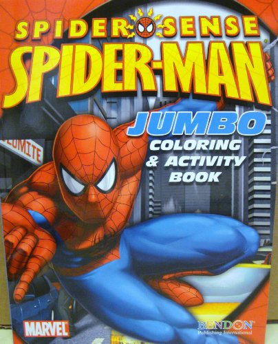 Marvel Spiderman Spider-Sense Coloring & Activity Book ~ Spidey on the Move! (2009)