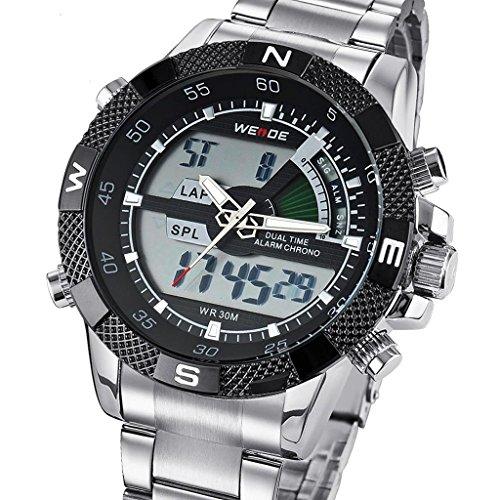 tcella-mens-quartz-black-dial-stainless-steel-lcd-digital-analog-alarm-silver-wrist-watch