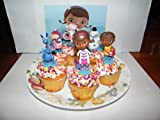 Disney Doc McStuffins Figure Cake Toppers / Cupcake Decorations Set of 6